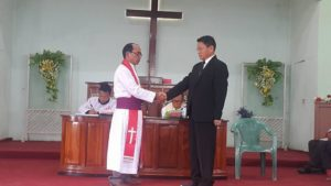 Consecration of New Bishop Rev. Dr. SK Manlun